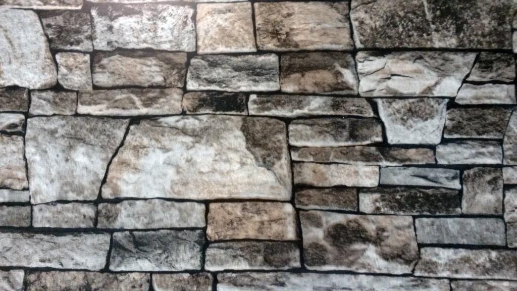 Белый камень глянцевый